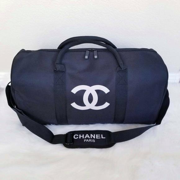 14e4f473fcef CHANEL Handbags - Chanel duffle bag gym bag travel bag